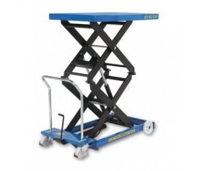 Zdvihací stůl SC-300-D-M mechanický 300 kg ,2x nůžky