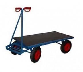 Plošinový vozík s ojí, 700 kg