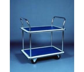 Dvoupolicový manipulační vozík TD2, 120 kg