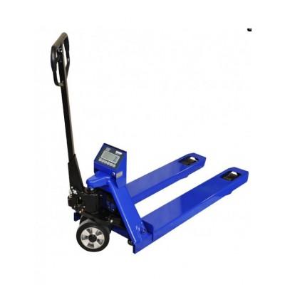 KPZ 71-9S Paletový vozík s váhou, 2,5 t, dilek 500g