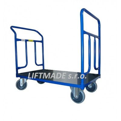 LMPV 0800x500 200Kg Plošinový vozík s překližkou