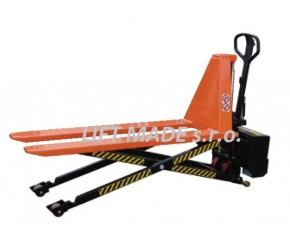 Nůžkový paletový vozík dlouhý elektrický