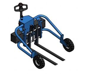 TPVE-HN1-1200 /2x500W DC/800W Terénní paletový vozík elektrický
