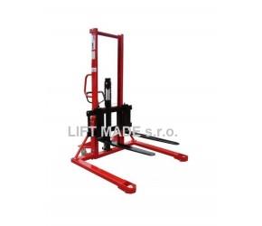 PZ1015, 1t zdvih 1,5m Vysokozdvižný vozík ruční obkročný