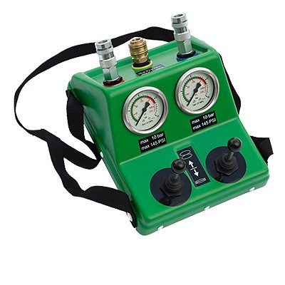 Dvojitý oládací a pojistný ventil DEADMEN