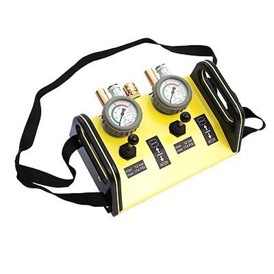 Dvojitý pojistný a ovládací ventil DEADMEN