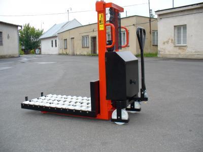 Ruční vysokozvižný vozík s elektrickým zdvihem na míru